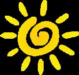 bright spot (sun)